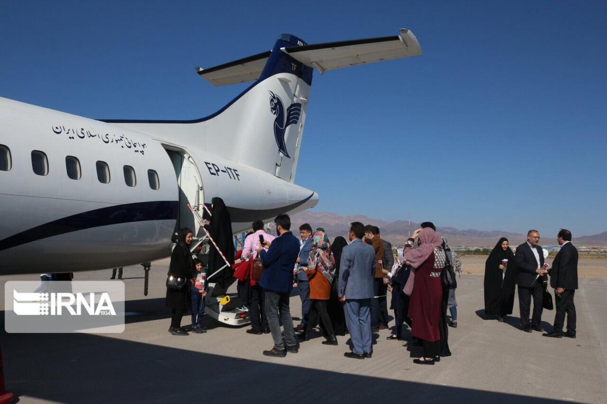 خبرنگاران کرونا، سفر هوایی به بجنورد را 52 درصد افزایش داد