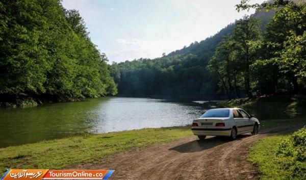 دریاچه ای که در اثر زلزله در مازندران به وجود آمده!، فیلم